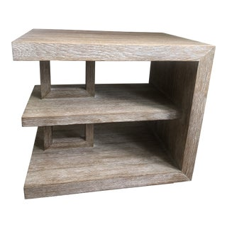 Global Views Plains Side Table For Sale