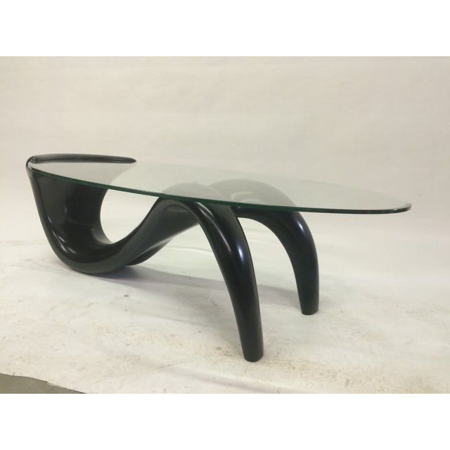 Biomorphic 1980s Coffee Table - Image 2 of 5