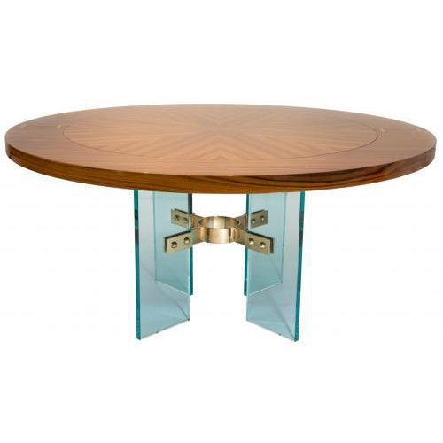 Not Yet Made - Made To Order Studio Van den Akker Jules Center Dining Table - Floor Sample For Sale - Image 5 of 5
