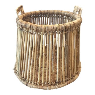 Rattan Basket For Sale