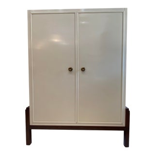 1990s Baker Furniture Entertainment Cabinet For Sale