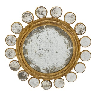 Sunburst Vintage Mirror For Sale