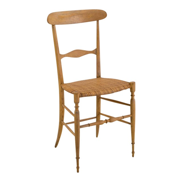 Italian Campanino Chair by Chiavari Giuseppe Gaetano Descalzi, 1807 For Sale