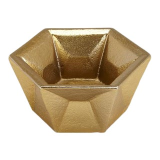 Tom Dixon Candleholder Gold For Sale