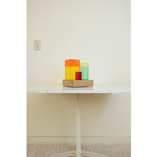 Contemporary Multi-Color Abstract Tabletop Sculpture Preview