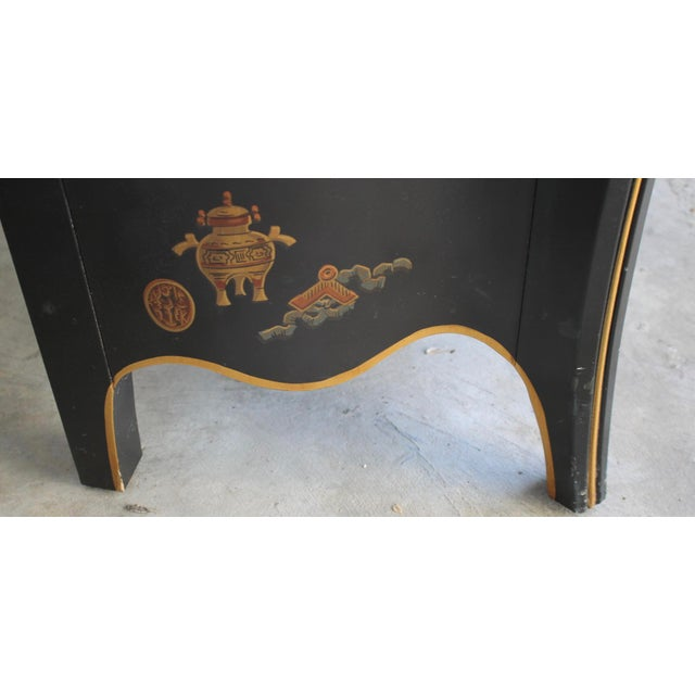 Drexel Drexel Et Cetera Chinoiserie Chest of Drawers For Sale - Image 4 of 11