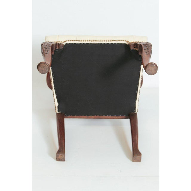 18th Century Chippendale Mahogany Armchair For Sale - Image 11 of 12