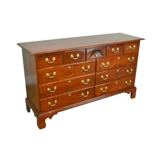 Statton Chippendale Style Cherry New Market Dresser For Sale