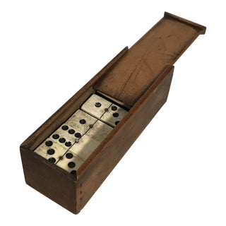 Early 20th Century Vintage Domino Game For Sale