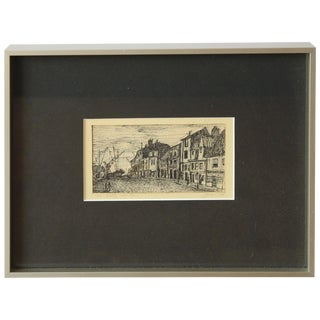 Drawing, New Castle Upon Tyne For Sale