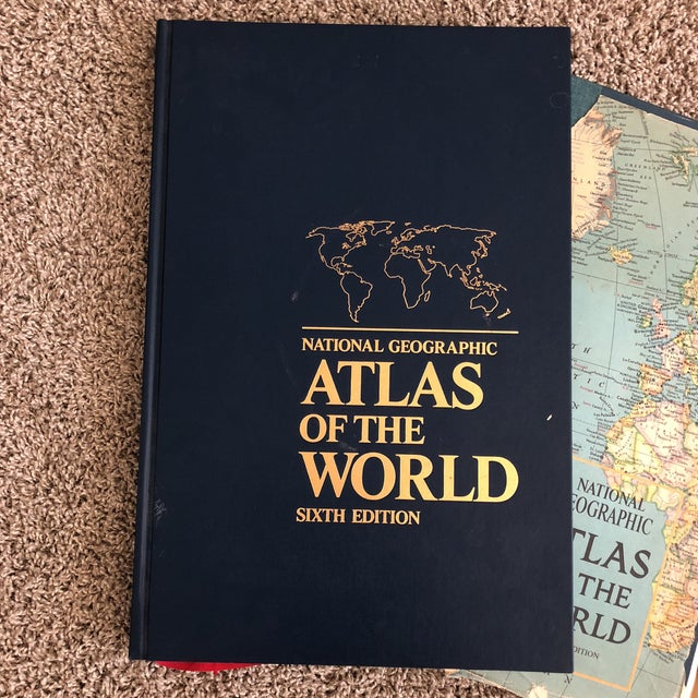 These are fantastic to look at and to decorate with! Very large in size with vibrant color throughout. Atlas Without...