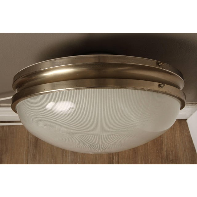 White 1960s Sergio Mazza 'Sigma' Wall or Ceiling Light for Artemide For Sale - Image 8 of 11