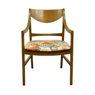 Mid Century Modern Stanley Furniture Dining Arm Chair For Sale