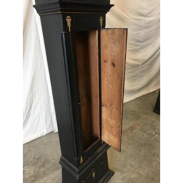 19th Century Danish Empire Long Case Clock For Sale In Austin - Image 6 of 11