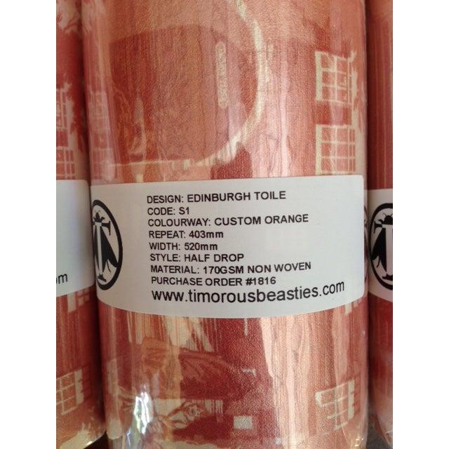 Custom Timerous Beasties Toile Wallpaper - S/6 - Image 3 of 4