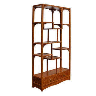 Chinese Rosewood Display Curio Cabinets Room Divider Preview