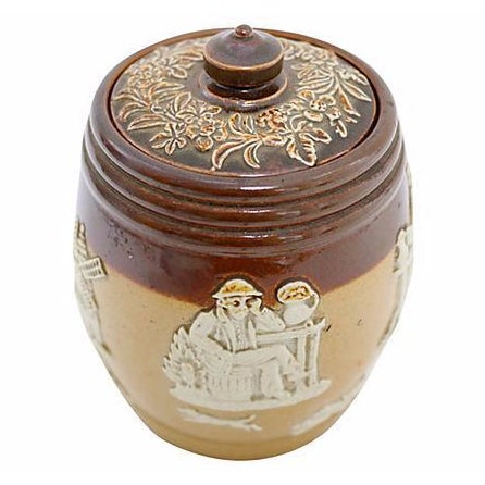 Antique Doulton Stoneware Tobacco Jar - Image 1 of 4