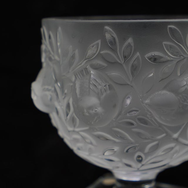 Unbelievably beautiful vase from LALIQUE FRANCE (etched on bottom), the company which creates some of the world's most...