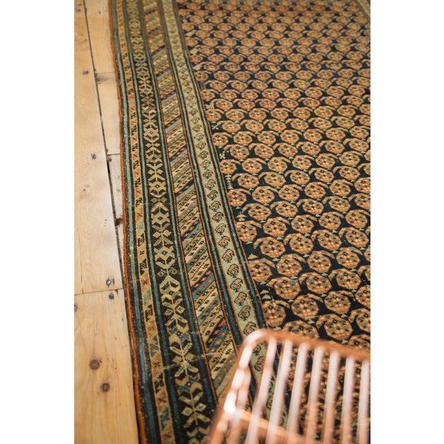"Antique Caucasian Rug Runner - 3'10"" x 8'10"" For Sale - Image 10 of 11"