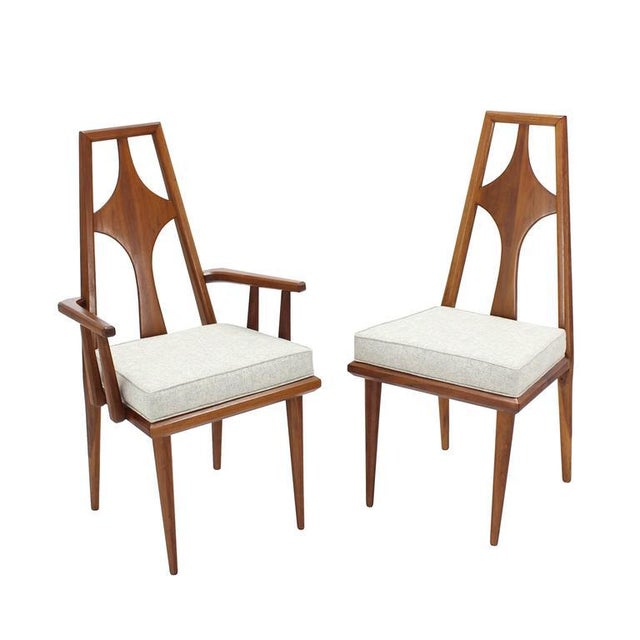 Set of Six Swedish Dining Chairs New Upholstery For Sale - Image 10 of 10
