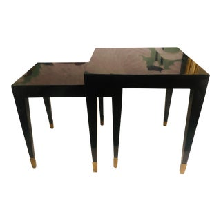 Mid-Century Modern Nesting Tables - Set of 3 For Sale