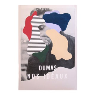 Contemporary Music Poster, Dumas Nos Idéaux