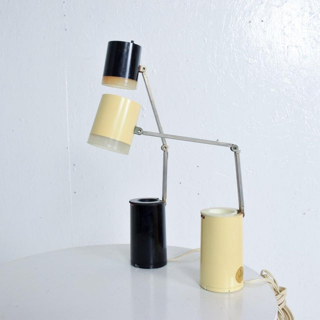 Mid-Century Modern Pair of Lloyds Task Table Lamps, Mid Century Modern For Sale - Image 3 of 10
