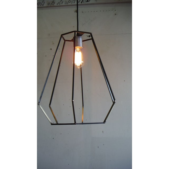 Contemporary Hand Made Teardrop Ceiling Pendant For Sale - Image 3 of 8