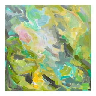 """""""Spring Fever"""" by Trixie Pitts Abstract Expressionist Oil Painting For Sale"""