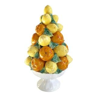Vintage Italian Lemon & Orange Citrus Topiary