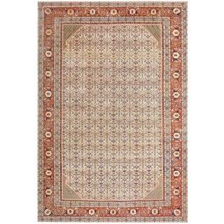 Large Antique Haji Jalili Persian Tabriz Rug - 12′10″ × 19′2″ For Sale