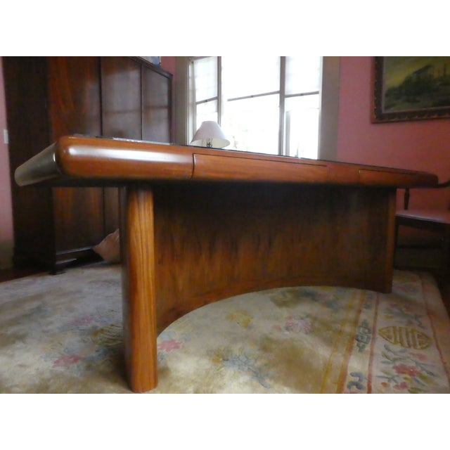 Dyrlund Rosewood Executive Desk - Image 2 of 10