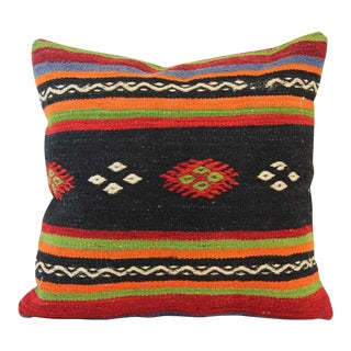 Handmade Kilim Pillow Cover For Sale