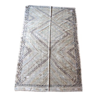 Vintage Turkish Jijim Rug - 5′11″ × 9′6″