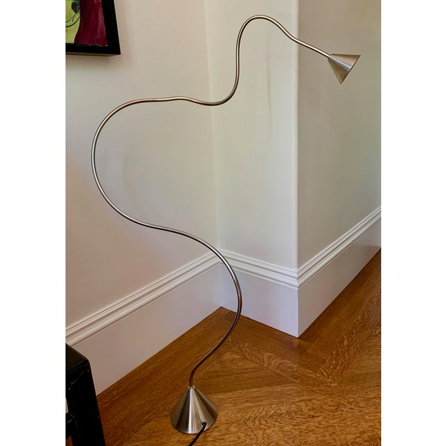 Papiro Lamp in Nickel-Chrome Finish For Sale In Boston - Image 6 of 6