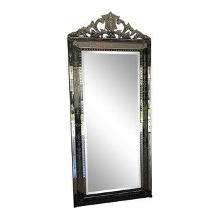 Venetian Framed Leaning Mirror