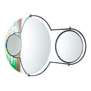 Wall Mirror by Rodney Kinsman for Bieffeplast, Italy, 1984