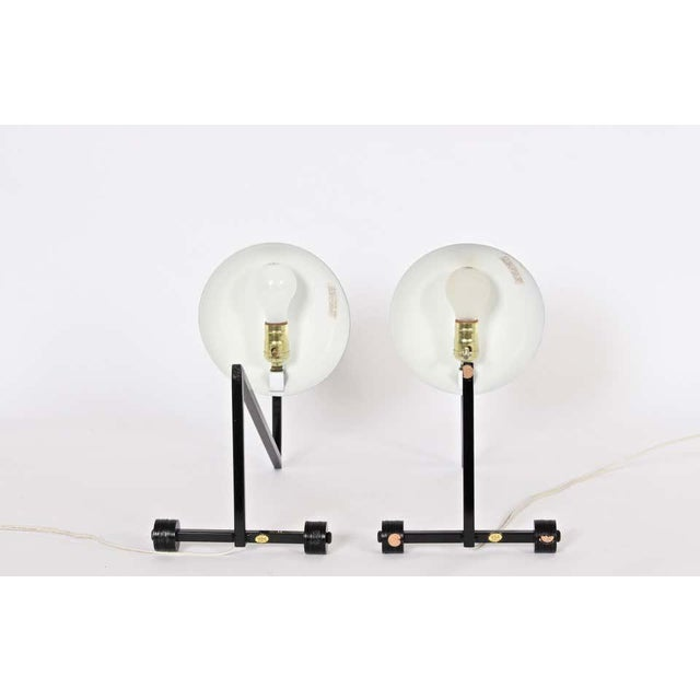 """1980s 1980s George Kovacs Style Black """"Z"""" Desk Lamps - a Pair For Sale - Image 5 of 9"""