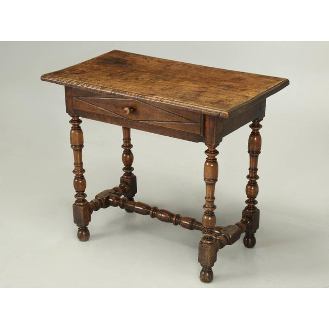 Antique Country French Side or End Table From the Early 1700s For Sale - Image 10 of 10