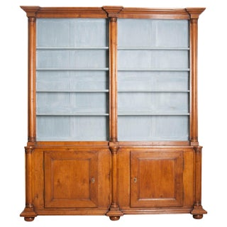 English Early 19th Century Oak Bookcase For Sale