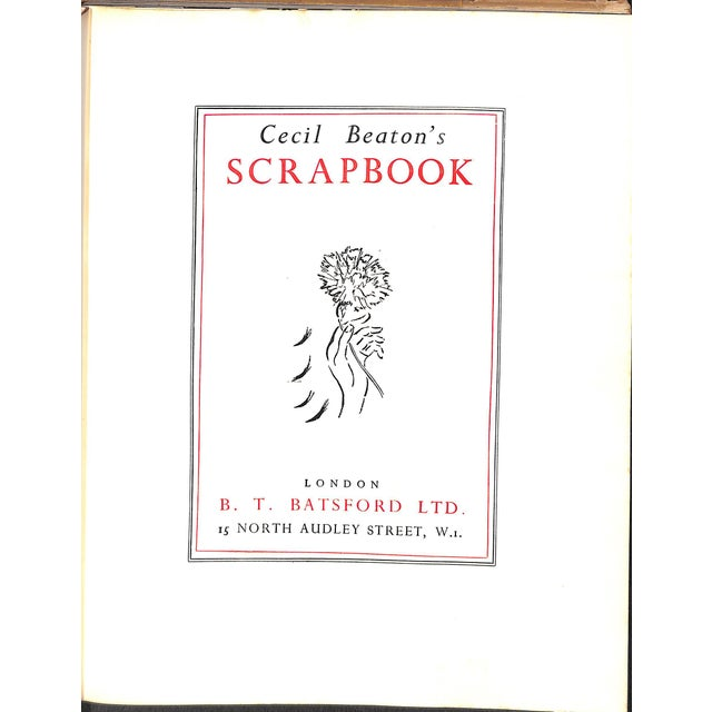 135 pp. Inscribed To Dorothy Wolcock Newmeyer w/ All Best Wishes From Cecil Beaton w/ Butterfly & Rose Bud Sketch New York...