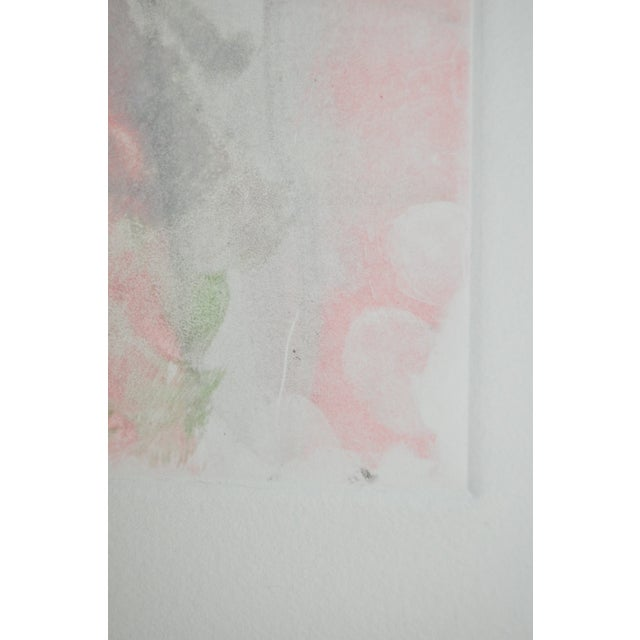 Contemporary Abstract Aquatint Figures in Plate Marked Borders For Sale - Image 3 of 4