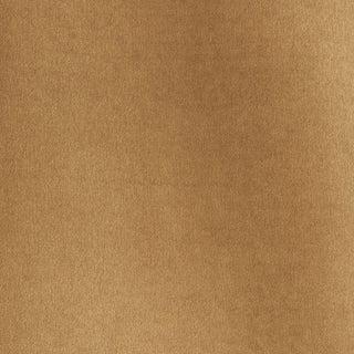 Schumacher Rocky Performance Velvet Fabric in Malt For Sale