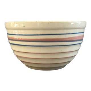 1940s Country Farmhouse Kitchen Mixing Bowl For Sale