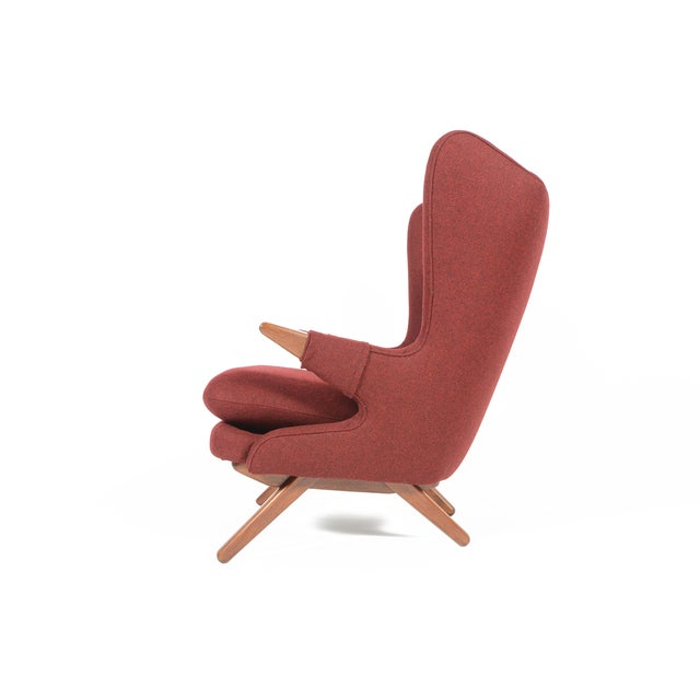 Svend Skipper Model 91 Burgundy Lounge Chair For Sale In San Francisco - Image 6 of 10