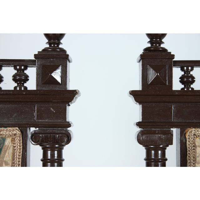 Baroque-Style Dining Chairs - Set of 4 - Image 3 of 4