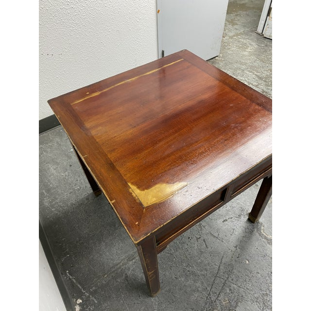 Mid 20th Century Chinese Game Table For Sale - Image 4 of 11