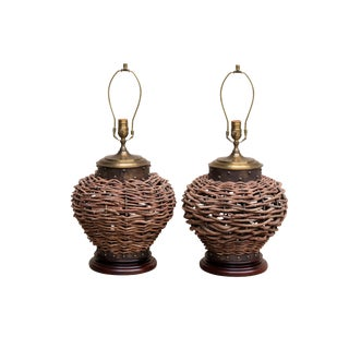 Wildwood Table Lamps - a Pair For Sale