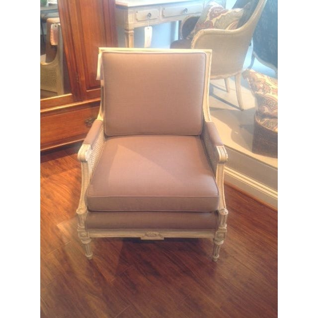 Vintage Cane Arm Chairs - A Pair - Image 2 of 6