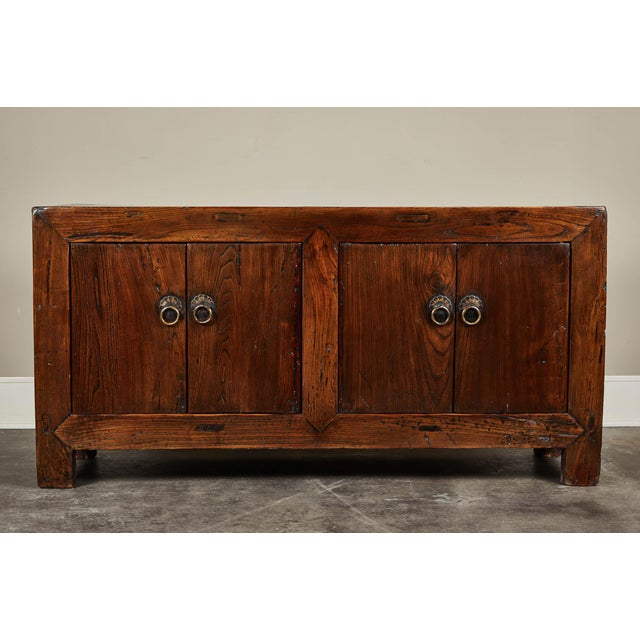 Mid 19th Century 19th C. Chinese Four Door Sideboard For Sale - Image 5 of 5
